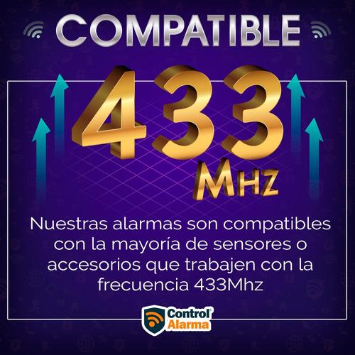 alarma 12 wifi gsm pstn triple tecnologia vecinales casa