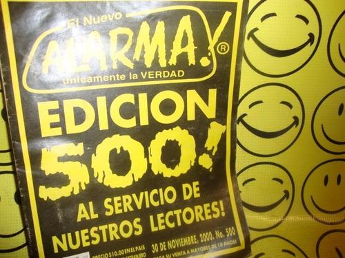 alarma #500 edicion especial de coleccion