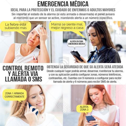 alarma 7 smart gsm tel vecinal inalambrica seguridad x app