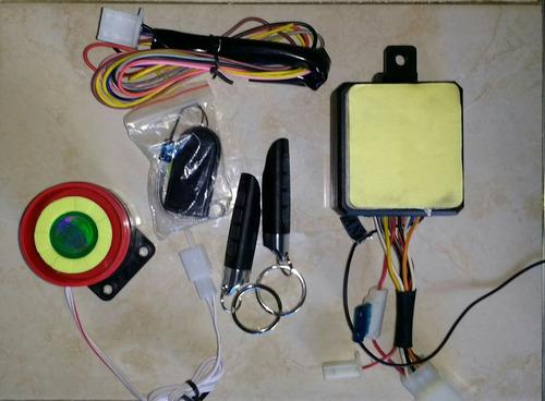 alarma antiatraco con tarjeta de proximidad para motocicleta