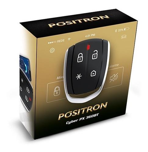 alarma auto pósitron cyber px 360 bluetooth  presencia