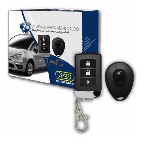 alarma auto x-28 z20 rh + cierre centralizado 4 puertas