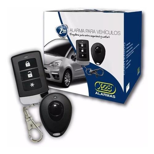 alarma auto x-28 z20 rs + cierre centraliz 2 p