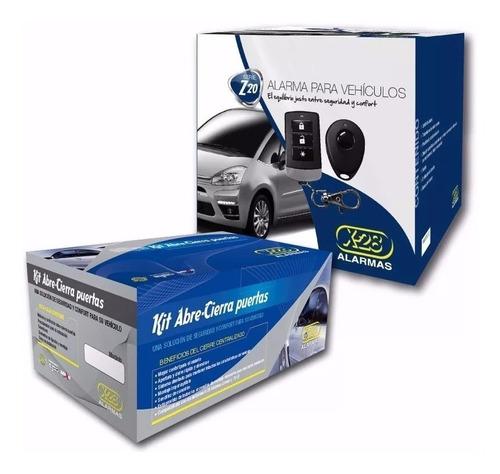 alarma auto x-28 z20rs + cierre centralizad 4p