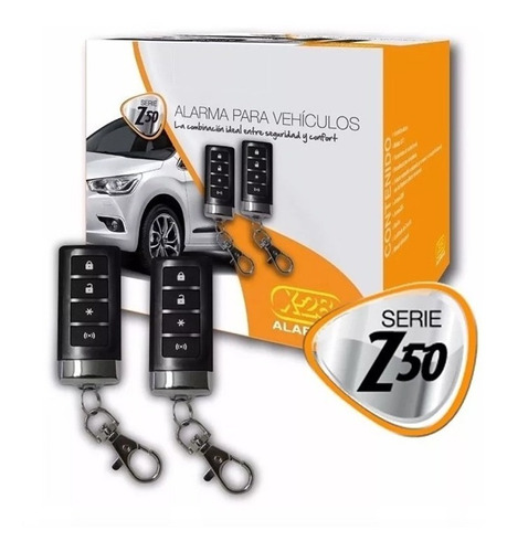 alarma auto x-28 z50h premium localización gps por sms