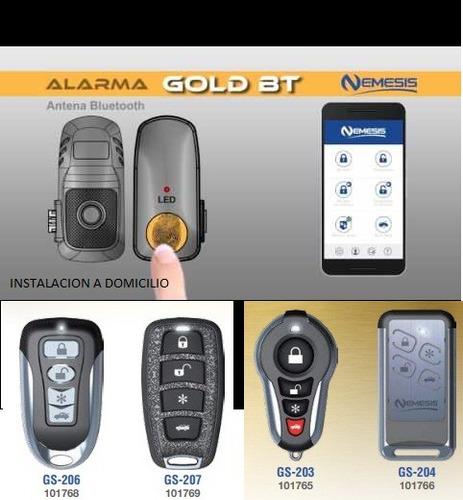 alarma + bloqueo central ,  instalacion a domicilio - 90 usd