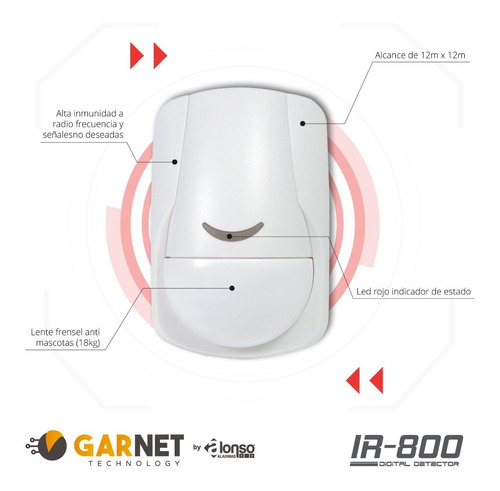 alarma casa casa cableado sensor magnetico