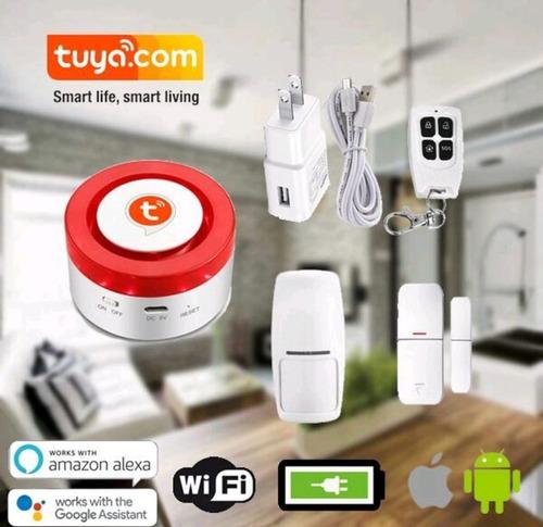 alarma casa negocio wifi compatible con domotica