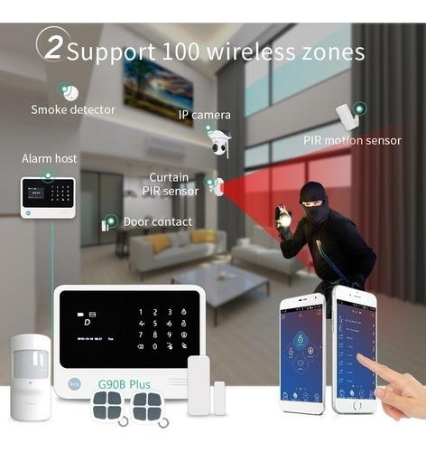 alarma casa wifi seguridad con app gsm gpr domotica smart