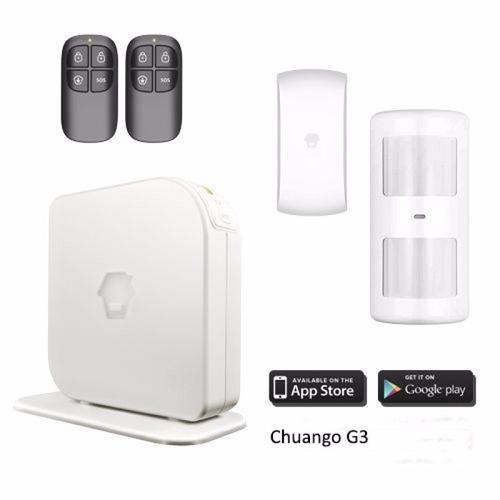 alarma chuango gsm g3 hogares alerta al celular | netshop