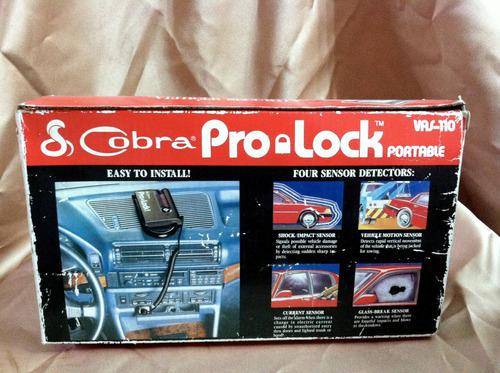 alarma cobra pro lock