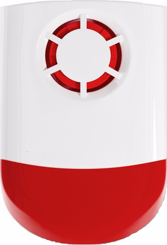 alarma comunitaria inalámbrica batería respaldo todo uso