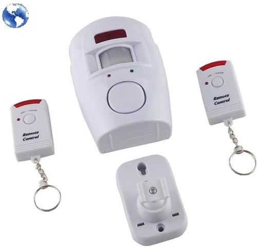 alarma con sensor de movimiento infrarrojo sirena control r