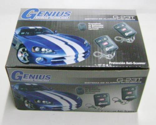 alarma de automovil 12 volts   genius o similar