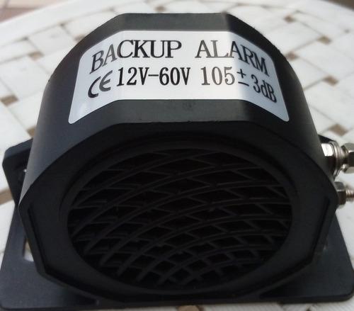 alarma de retroceso o pito de retro 12 v instalado