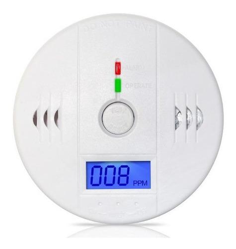 alarma detector monóxido carbono seguridad casa