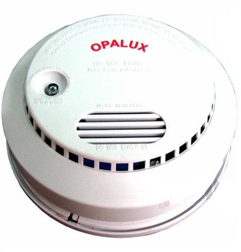 alarma detector sensor  de  humo incendios seguridad