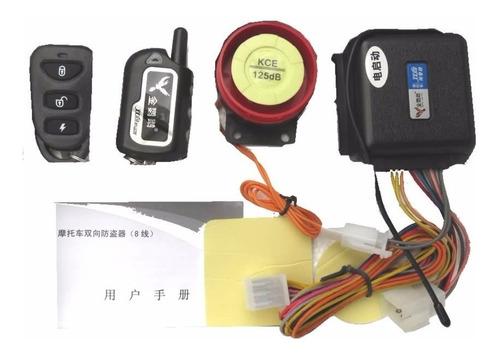 alarma doble via jdl para moto, 2 controles remotos