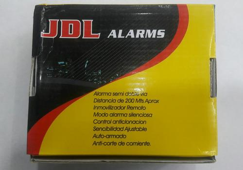 alarma doble via para moto largo alcance encendido 400mts di