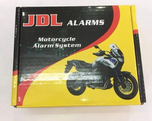 alarma doble via para moto, largo alcance, encendido a dista