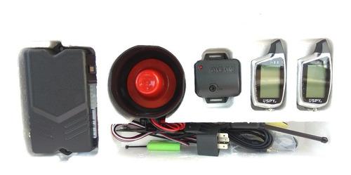 alarma doble via spy para vehículo nueva versión