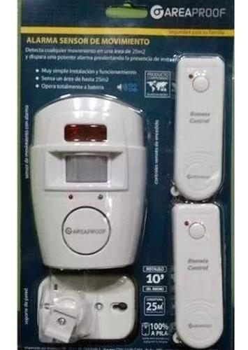 alarma domiciliaria inalambrica con sensor movimiento casa