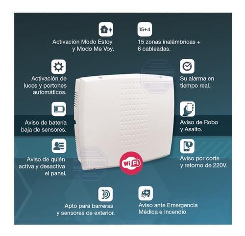 alarma domiciliaria inalambrica marshall ip wifi