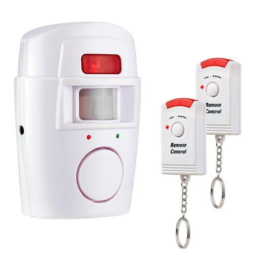 alarma domiciliaria inalambrica sensor de movimiento hogar