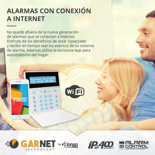 alarma domiciliaria inalambrica+ wifi + bateria+a2k4-ng rf