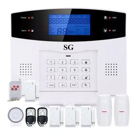 Alarma Dual Kit Gsm Telefono App Alerta Celular Inalambrica Seguridad Casa Negocio Sistema Vecinal Sensores