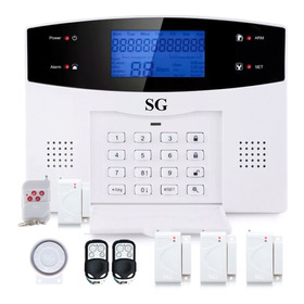 Alarma Dual Kit Gsm Telefono Control App Seguridad Celular Inalambrica Casa Negocio Sistema Vecinal Sensores