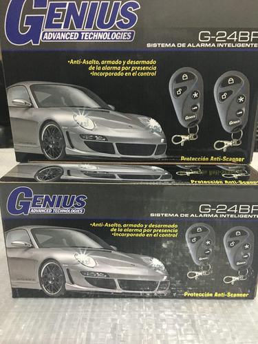 alarma  genius g-24 bp. unica con transceiver incorporado.