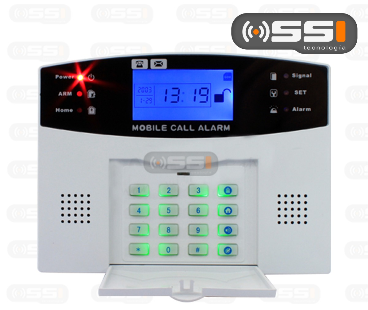 Alarma gsm inalambrica inteligente para casa negocio hm4 1 en mercado libre - Alarmas para casa precios ...