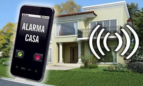 alarma gsm inalambrica  recibi todo en tu celular!