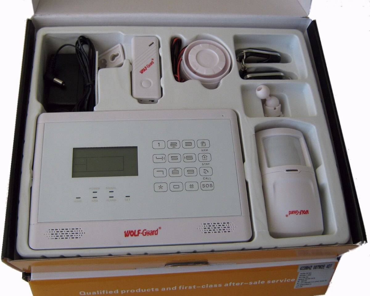 Alarma gsm llamadas al celular o fijo para casa o oficina - Alarmas para casa precios ...