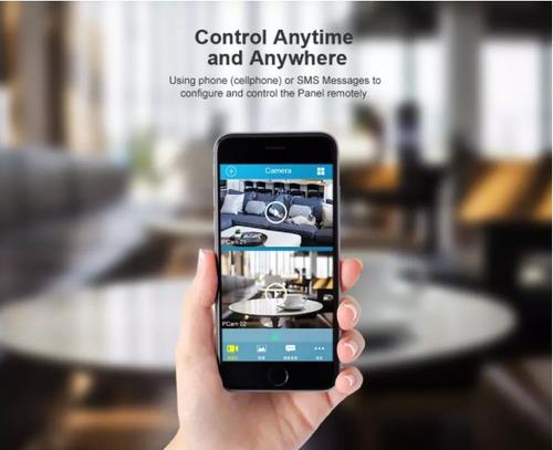 alarma inalámbrica gsm chip inteligente para casas y oficina