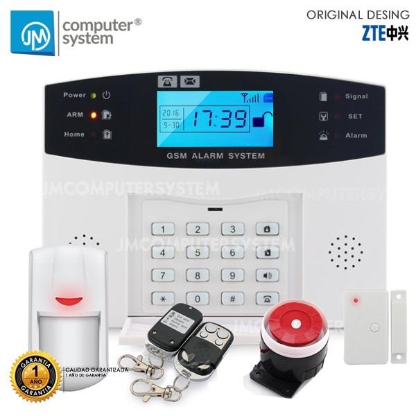 alarma inal mbrica gsm para casa oficina negocio bs 524