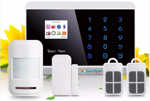 alarma inalambrica para casas locales hybrida gsm touch app