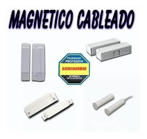 alarma inalambrica sensor magnetico cableado