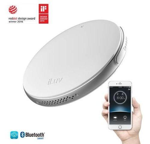 alarma inteligente bluetooth iluv smartshaker2 blanco