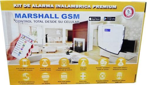 alarma marshall gsm en bahía blanca