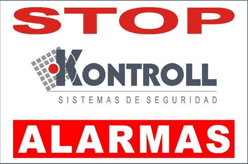 alarma monitoreada