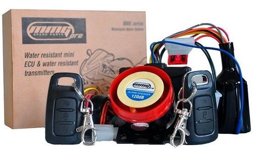 alarma moto mmg pro completa original universal - sti motos