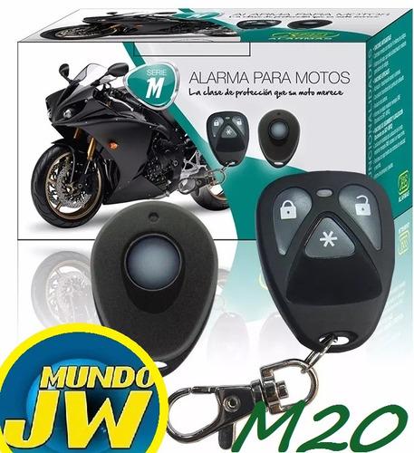 alarma moto x-28 m20 presencia sirena 2 controles remotos
