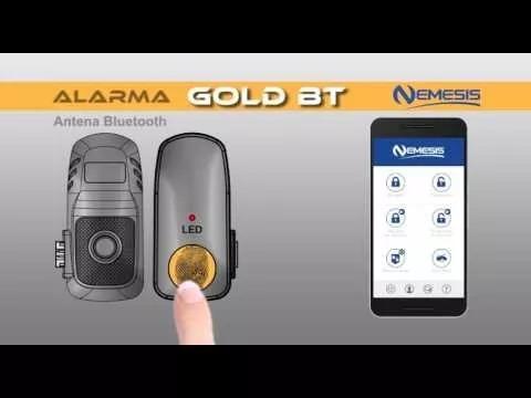 alarma nemesis gold+modulo bluetooth+ modulo gps