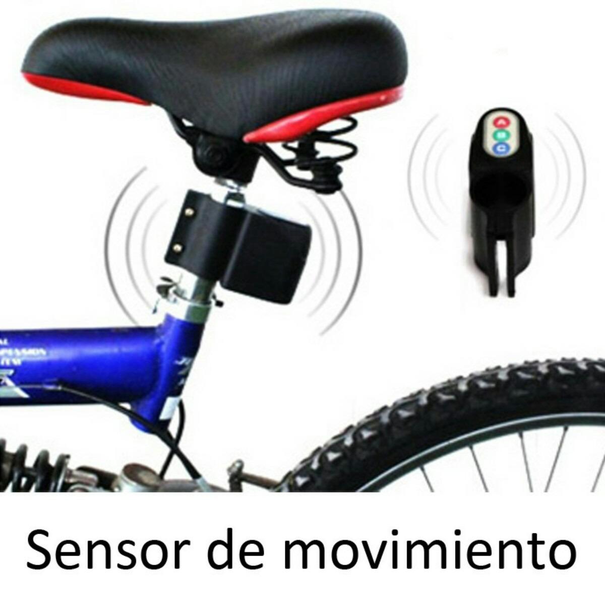Alarma para bicicleta con sensor de movimiento s 50 00 - Sensores de movimiento con alarma ...