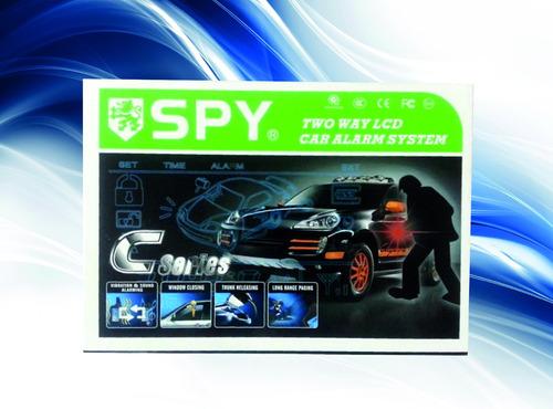 alarma para carro  marca spy 2 vías