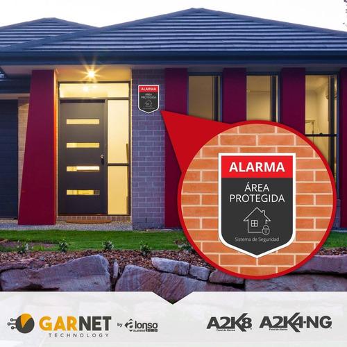 alarma para casa con batería kit - inalambrico