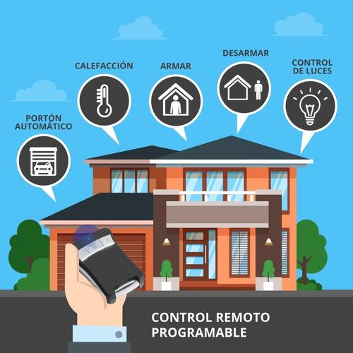 alarma para casa con control remoto kit-cableado