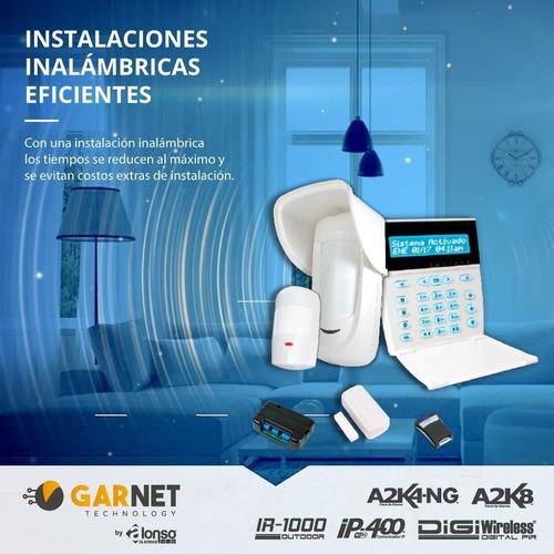 alarma para casa o departamento+wifi+detector mov-kit-12c